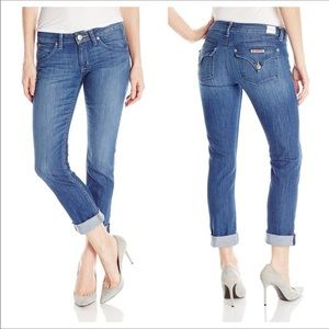 Hudsons Bacara Cropped Straight Jeans